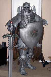 Skull Knight from Berserk Manga, Armor Build, Full Tutorial